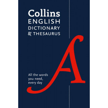 Collins English Paperback Dictionary and Thesaurus