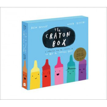 Crayon Box, The: Slipcase including  The Day the Crayons Quit & The Day the Crayons Came Home with an Art Print