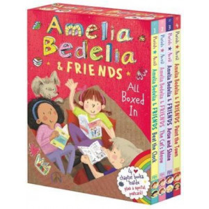 Amelia Bedelia & Friends Chapter Book Boxed Set #1: All Boxed In [Books 1-4]