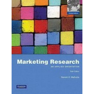 Marketing Research : An Applied Orientation 6e Global