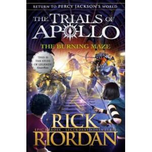 Burning Maze (The Trials of Apollo Book 3),