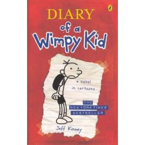 Diary of a Wimpy Kid #1 A Novel in Cartoons