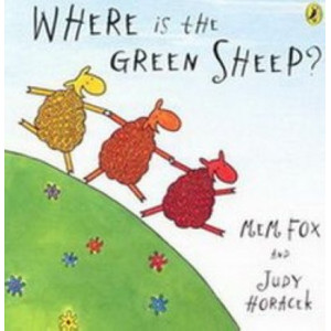 Kids100 #1 Where is the Green Sheep (Board Book)