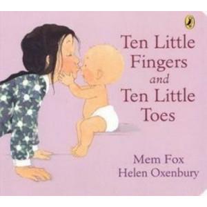 Ten Little Fingers & Ten Little Toes Board Book