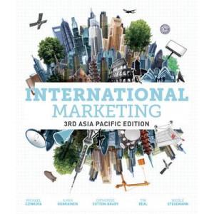 International Marketing: Asia Pacific Edition 3E