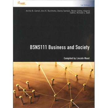 BSNS111 Business and Society Custom Publication