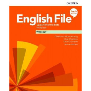 English File: Upper-Intermediate: Workbook with Key (4th Revised edition, 2020)