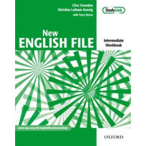 New English File: Intermediate: Workbook with key and MultiROM Pack: Six-level general English course for adults