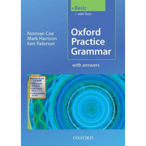 Oxford Practice Grammar : Basic With Key & CD Rom