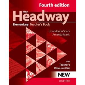 New Headway: Elementary: Teacher's Book + Teacher's Resource Disc: General English