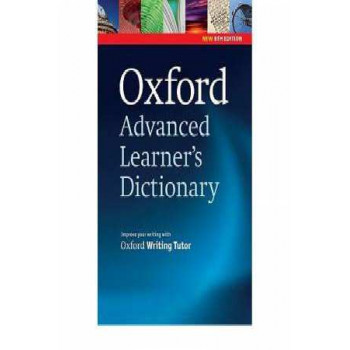 Oxford Advanced Learner's Dictionary with Oxford Writing Tutor