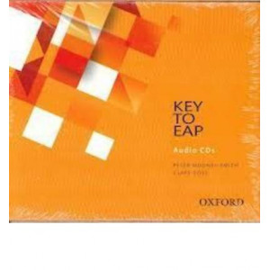 Key to EAP Audio CD Foundation Level: A Complete English for Academic Purposes Program