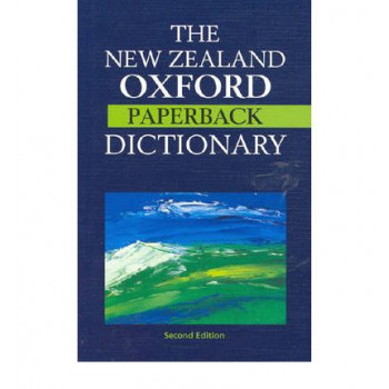 NZ Oxford Paperback Dictionary