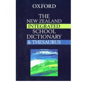 New Zealand Integrated School Dictionary & Thesaurus