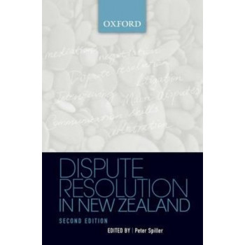 Dispute Resolution in New Zealand 2E