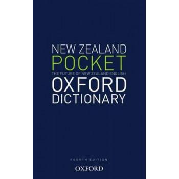 New Zealand Pocket Oxford Dictionary 4E 2012