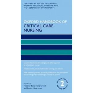 Oxford Handbook of Critical Care Nursing 2E