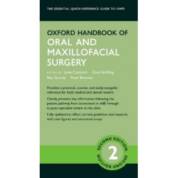 Oxford Handbook of Oral and Maxillofacial Surgery 2E