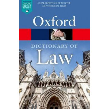 A Dictionary of Law 9E