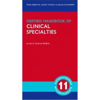 Oxford Handbook of Clinical Specialties 11E