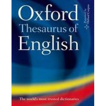 Oxford Thesaurus of English (Hardcover)