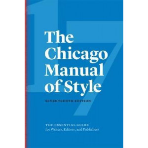 Chicago Manual of Style 17E