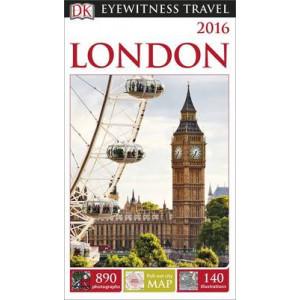2015 London: Dk Eyewitness Travel Guide