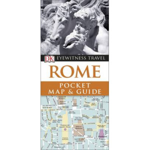 2016 DK Eyewitness Pocket Map and Guide: Rome
