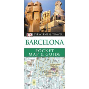 2016 Barcelona- Eyewitness Pocket Map and Guide