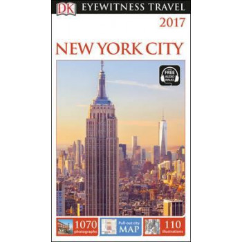 2016 New York City: Eyewitness Travel Guide
