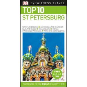 DK Eyewitness Top 10 Travel Guide St Petersburg