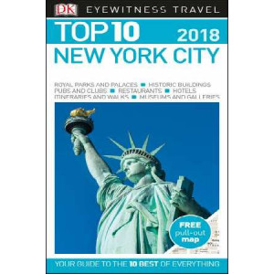 New York City Eyewitness Top 10 Travel Guide