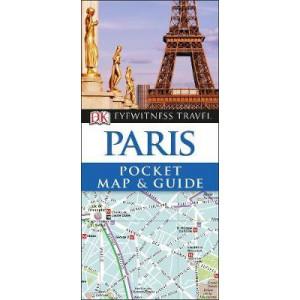 DK Eyewitness Pocket Map and Guide Paris