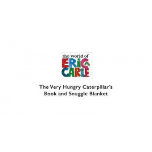 Very Hungry Caterpillar Book and Snuggle Blanket