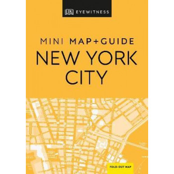 DK Eyewitness New York City Mini Map and Guide