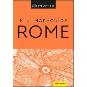 DK Eyewitness Rome Mini Map and Guide