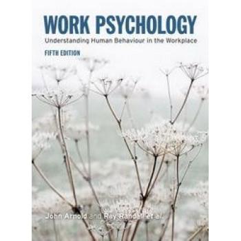 Work Psychology (5th ed)