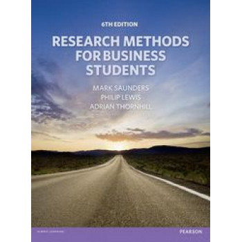 Research Methods for Business Students 6E