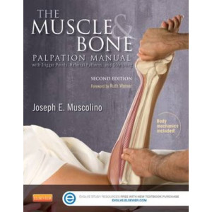 Muscle and Bone Palpation Manual with Trigger Points, Referral Patterns and Stretching 2E