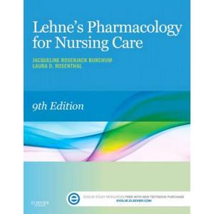 Lehne's Pharmacology for Nursing Care 9E