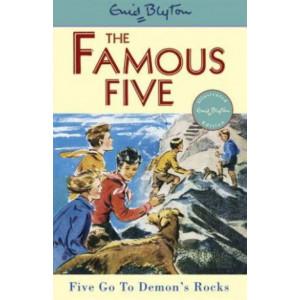Five Go to Demon's Rocks  : Famous Five #19