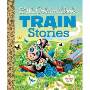 Little Golden Books Train Stories: 3 Books in 1