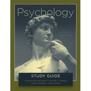 Study Guide for Psychology 8E by Gleitman et al