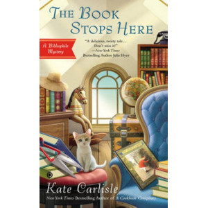 Bibliophile Mysteries #8: Book Stops Here