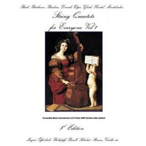 String Quartets for Everyone. Vol. 1.