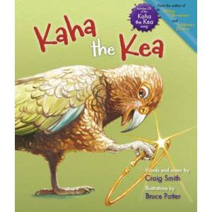 Kaha the Kea : book & CD