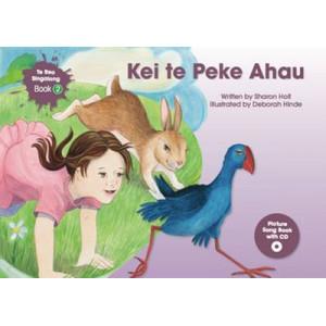 Kei te Peke Ahau with CD
