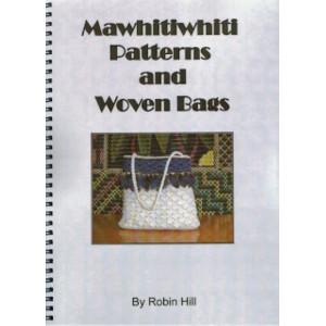 Mawhitiwhiti patterns and woven bags