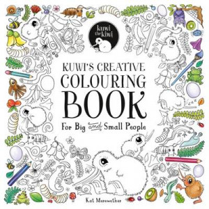 Kuwi's Creative Colouring Book: For Big and Small People: 2016