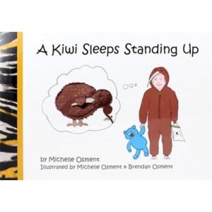 Kiwi Sleeps Standing Up